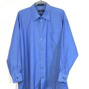 Claiborne Men's XL Dress Shirt 17 Wrinkle Free